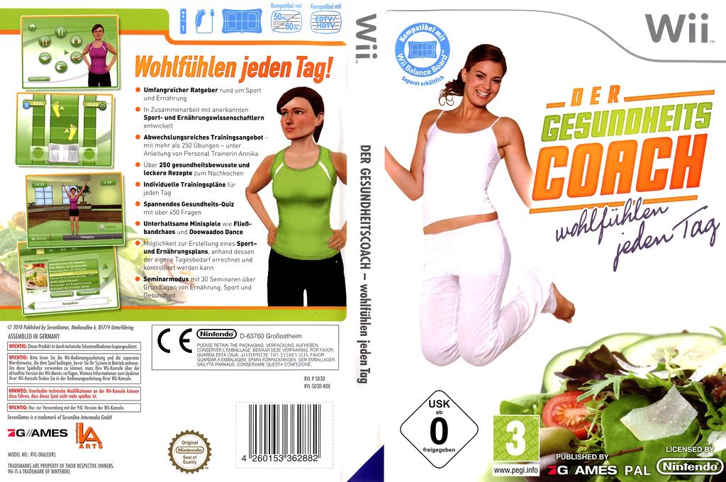 Der Gesundheitscoach Wii coverfullHQ (SD3DSV)