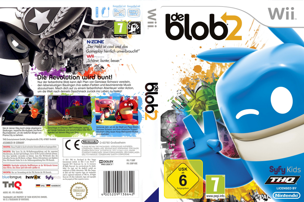de Blob 2 Array coverfullHQ (SDBP78)