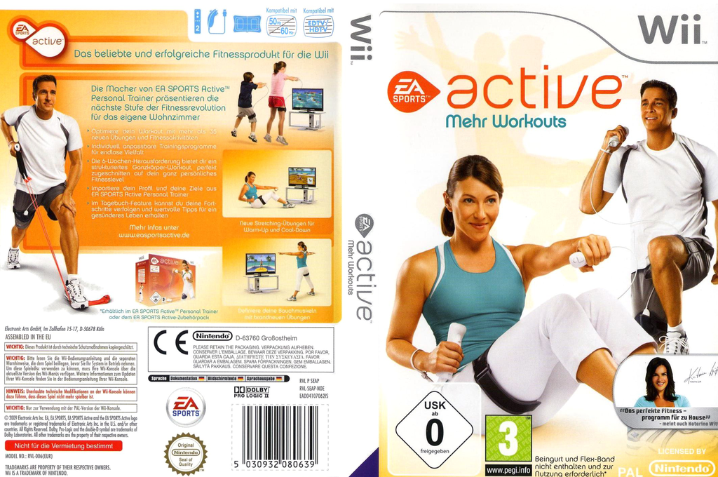 EA Sports Active: Mehr Workouts Wii coverfullHQ (SEAP69)