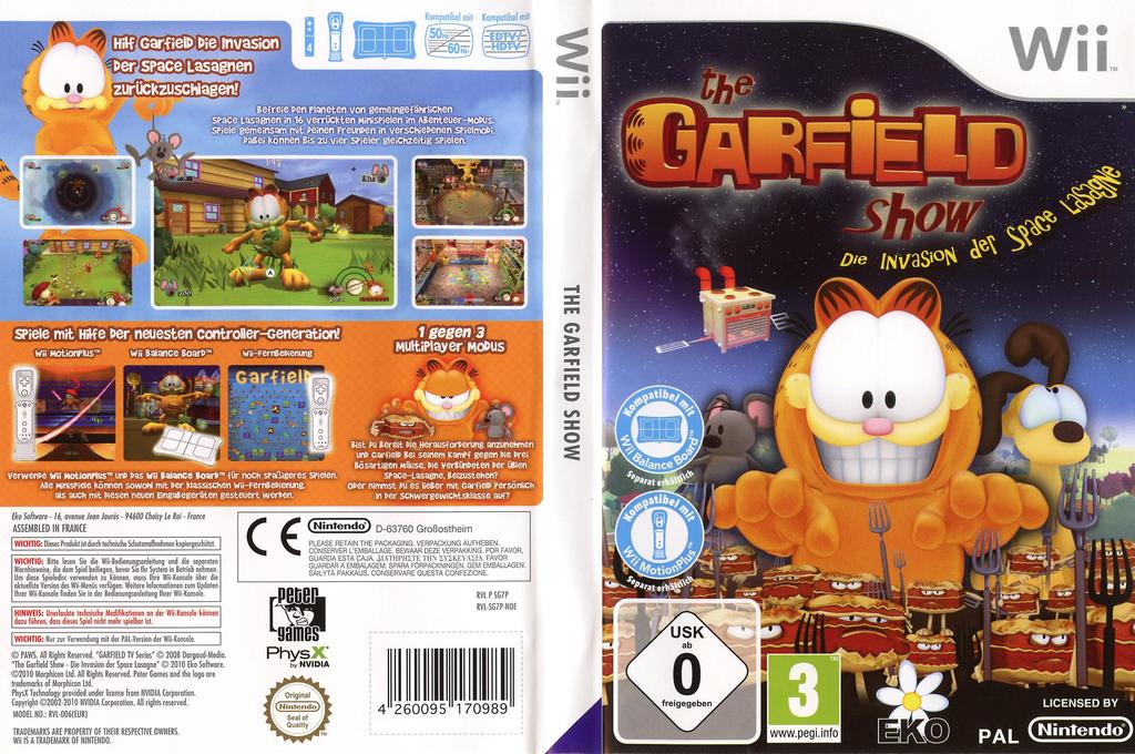 Die Garfield Show - Invasion der Space Lasagne Array coverfullHQ (SG7PVL)
