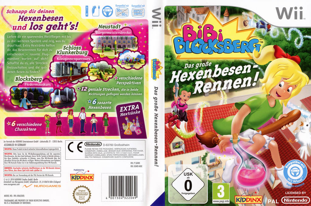 Bibi Blocksberg: Das große Hexenbesen-Rennen! Wii coverfullHQ (SGWD7K)