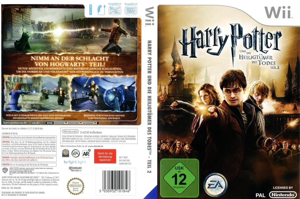 Harry Potter und die Heiligtümer des Todes - Teil 2 Wii coverfullHQ (SH5P69)