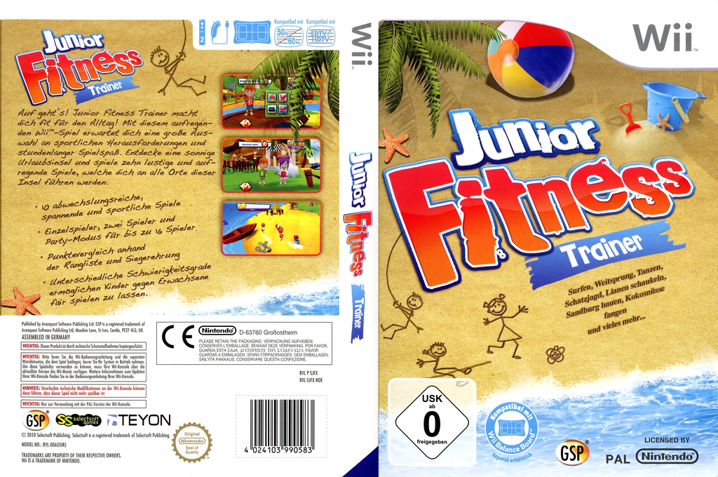 Junior Fitness Trainer Wii coverfullHQ (SJFPGR)
