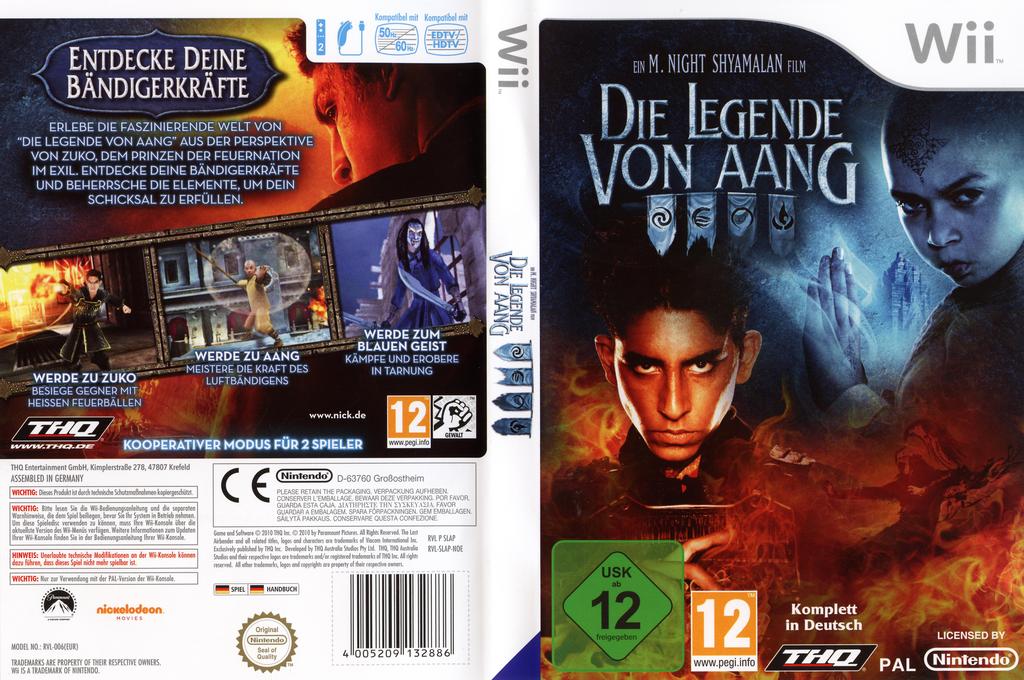 Die Legende von Aang Wii coverfullHQ (SLAP78)