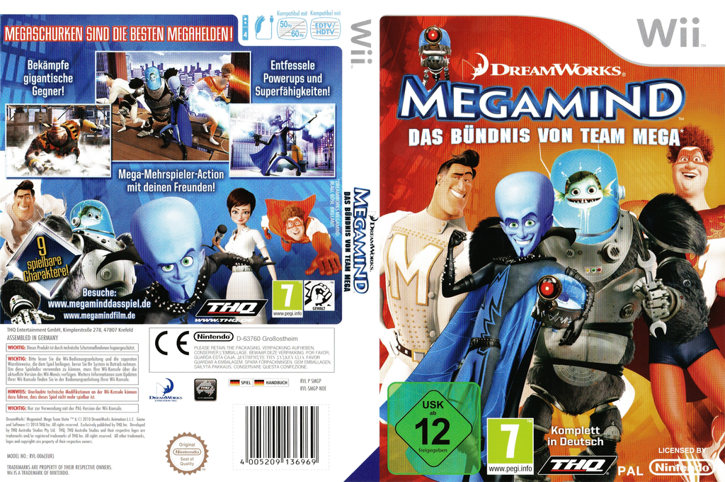 Megamind:Das Bündnis von Team Mega Wii coverfullHQ (SMGP78)