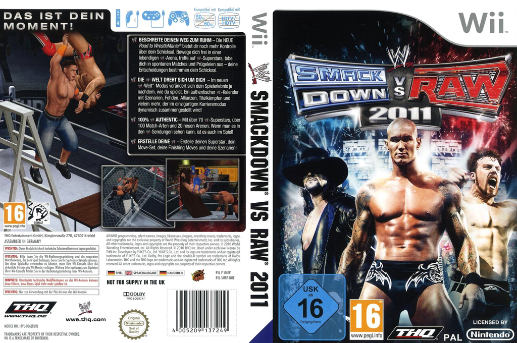 WWE SmackDown vs. Raw 2011 Wii coverfullHQ (SMRP78)