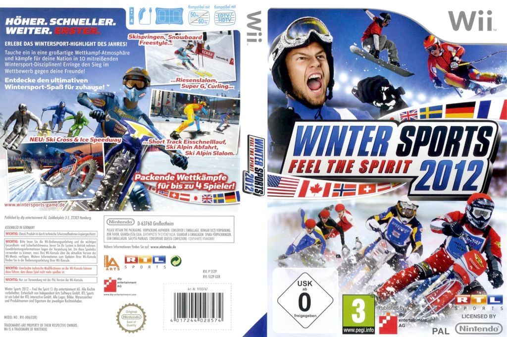 Winter Sports 2012: Feel the Spirit Wii coverfullHQ (SS2PFR)