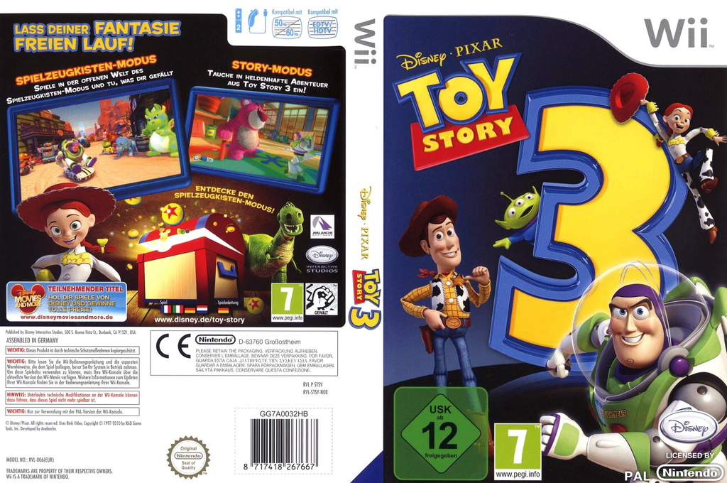 Toy Story 3 Wii coverfullHQ (STSY4Q)