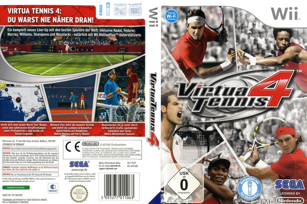 Virtua Tennis 4 Wii coverfullHQ (SV4P8P)