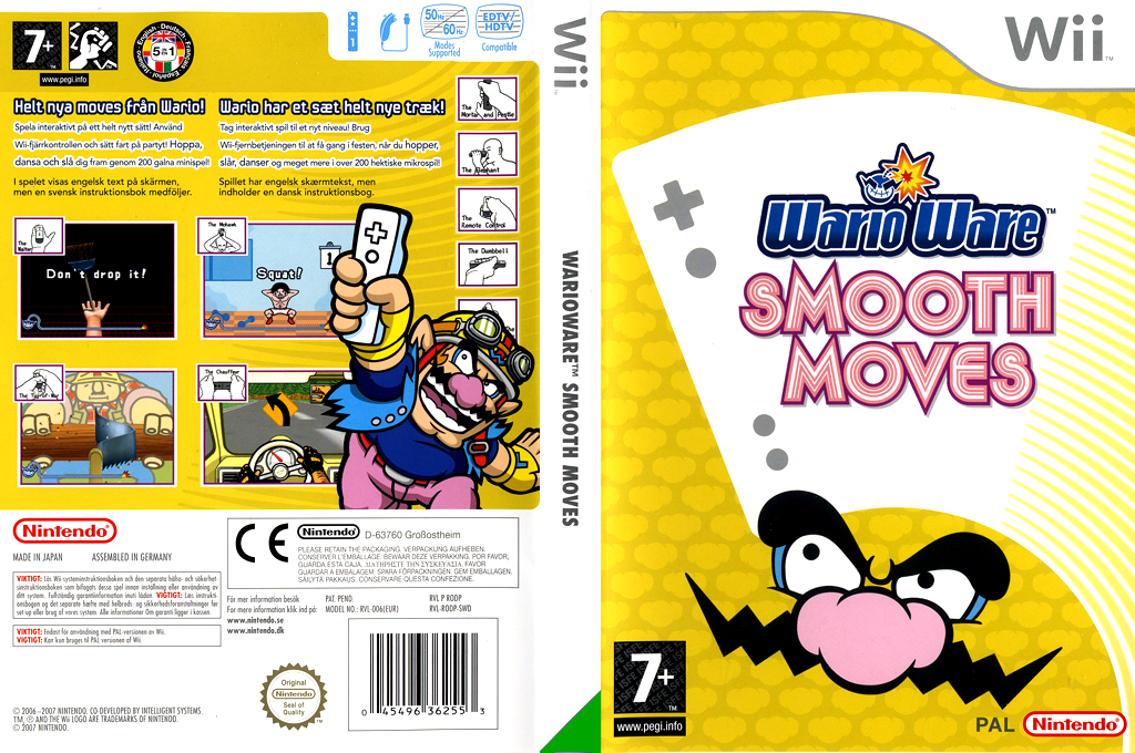WarioWare: Smooth Moves Wii coverfullHQ (RODP01)