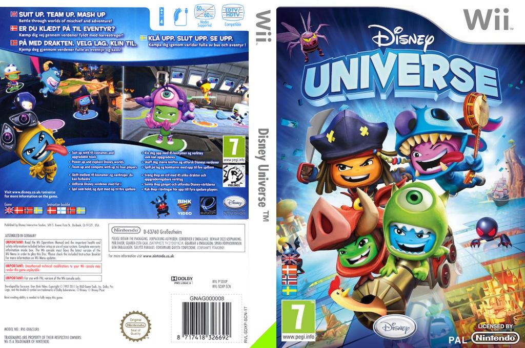 Disney Universe Wii coverfullHQ (SDXP4Q)