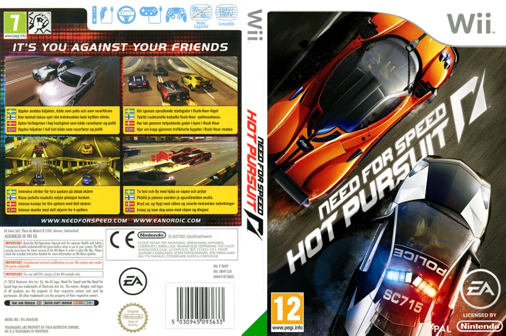 Need for Speed: Hot Pursuit Array coverfullHQ (SNHP69)