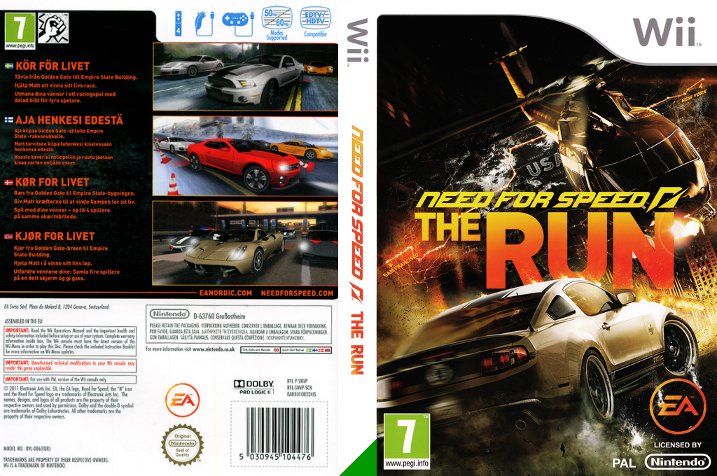 Need for Speed: The Run Wii coverfullHQ (SNVP69)