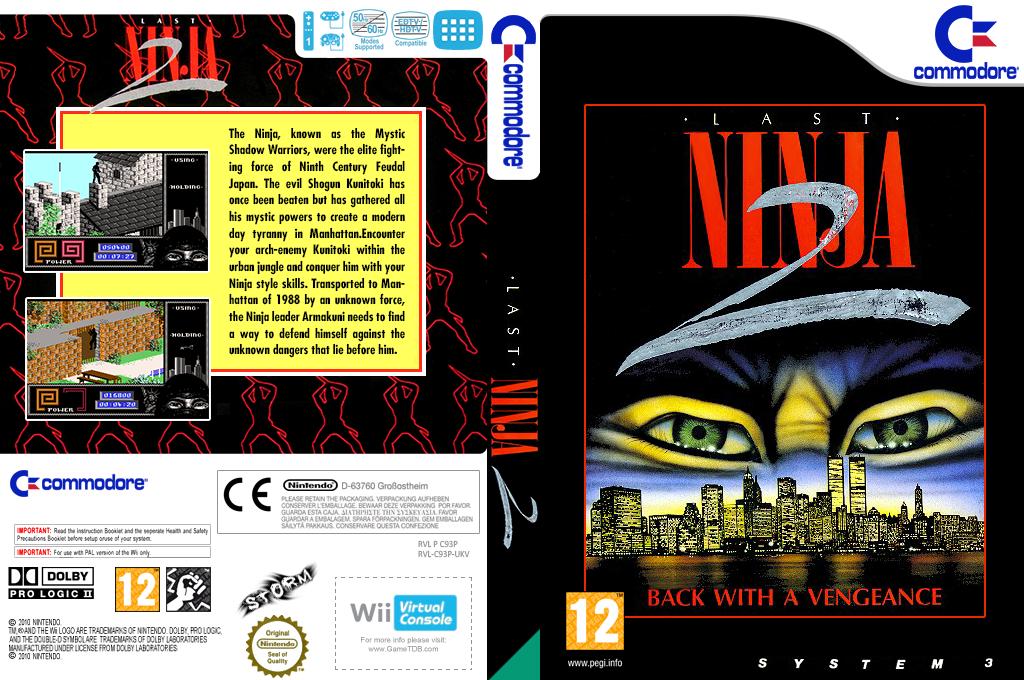 The Last Ninja 2 Array coverfullHQ (C93P)
