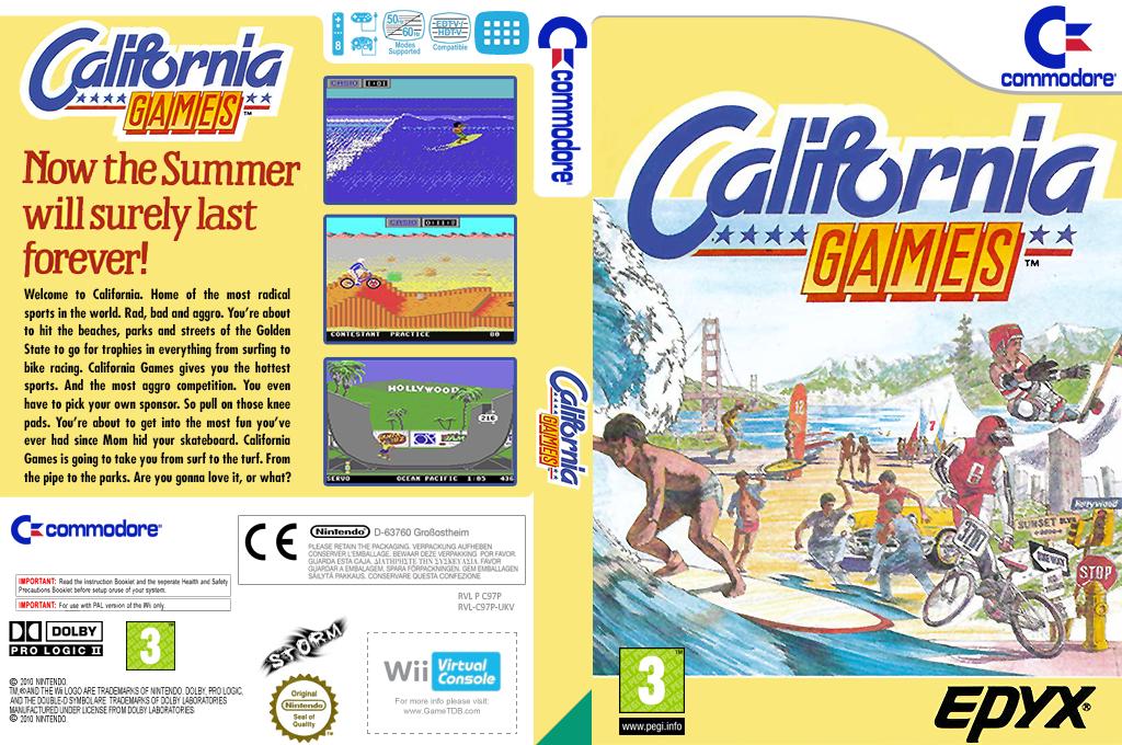 California Games Array coverfullHQ (C97P)