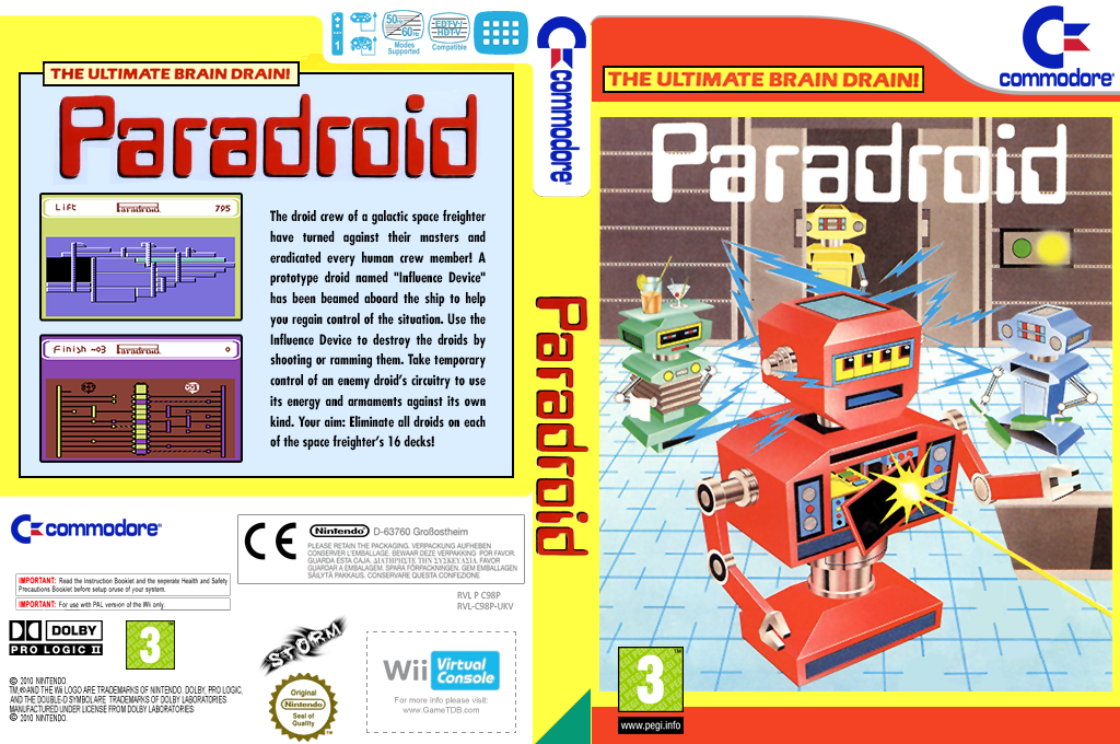 Paradroid Wii coverfullHQ (C98P)