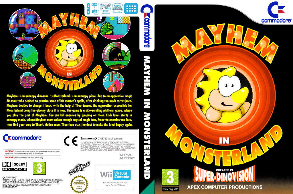 Mayhem in Monsterland Array coverfullHQ (C9GP)