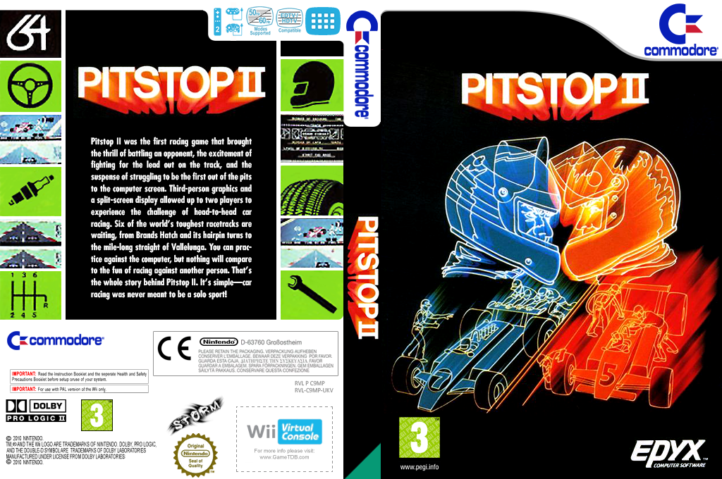Pitstop II Wii coverfullHQ (C9MP)