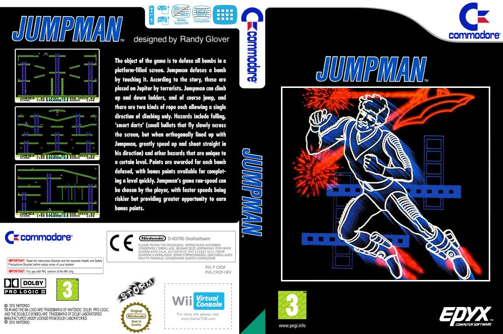 Jumpman Wii coverfullHQ (C9QP)