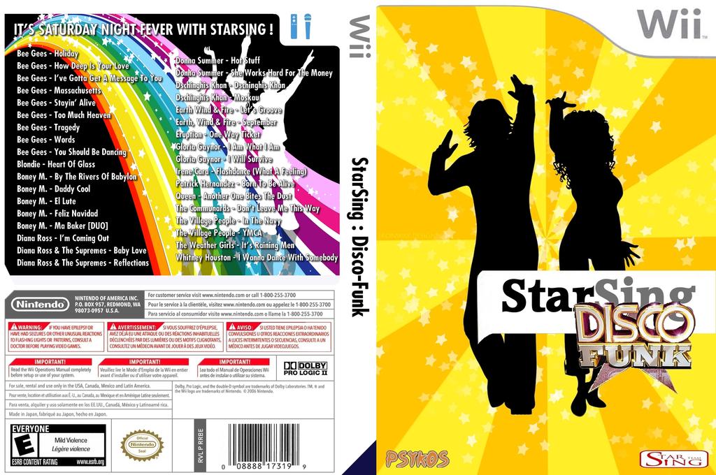 StarSing:Disco-Funk v1.0 Wii coverfullHQ (CS8PZZ)