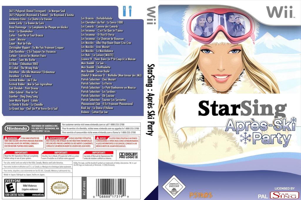 StarSing:Après-Ski Party v2.0 Wii coverfullHQ (CSJP00)