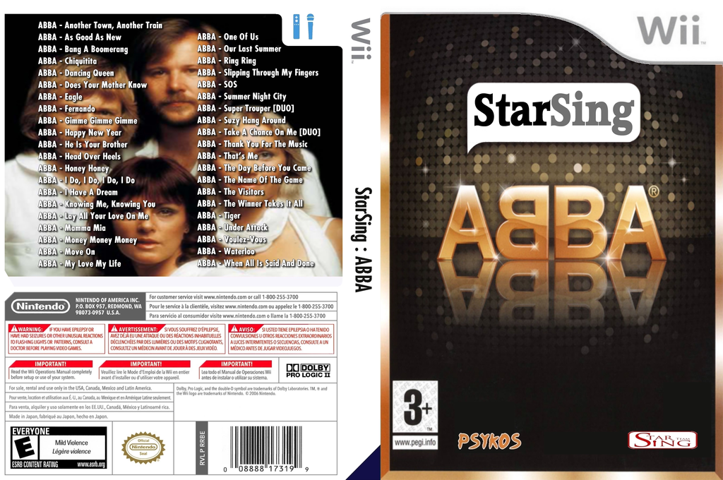 StarSing:ABBA v1.1 Wii coverfullHQ (CSKP00)