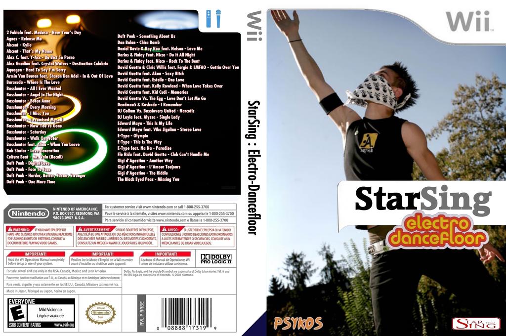 StarSing:Electro-Dancefloor Volume 1 v2.0 Wii coverfullHQ (CSMP00)