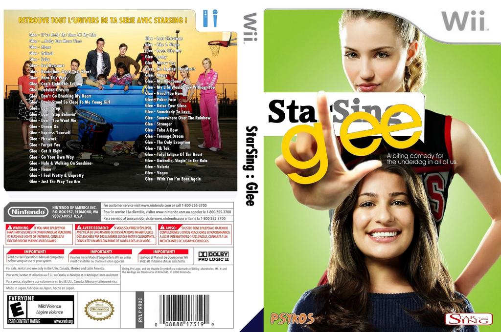 StarSing:Glee Volume 1 v2.1 Wii coverfullHQ (CSZP00)