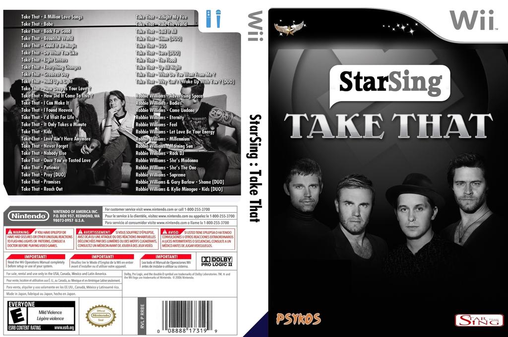 StarSing:Take That v2.0 Wii coverfullHQ (CTGP00)