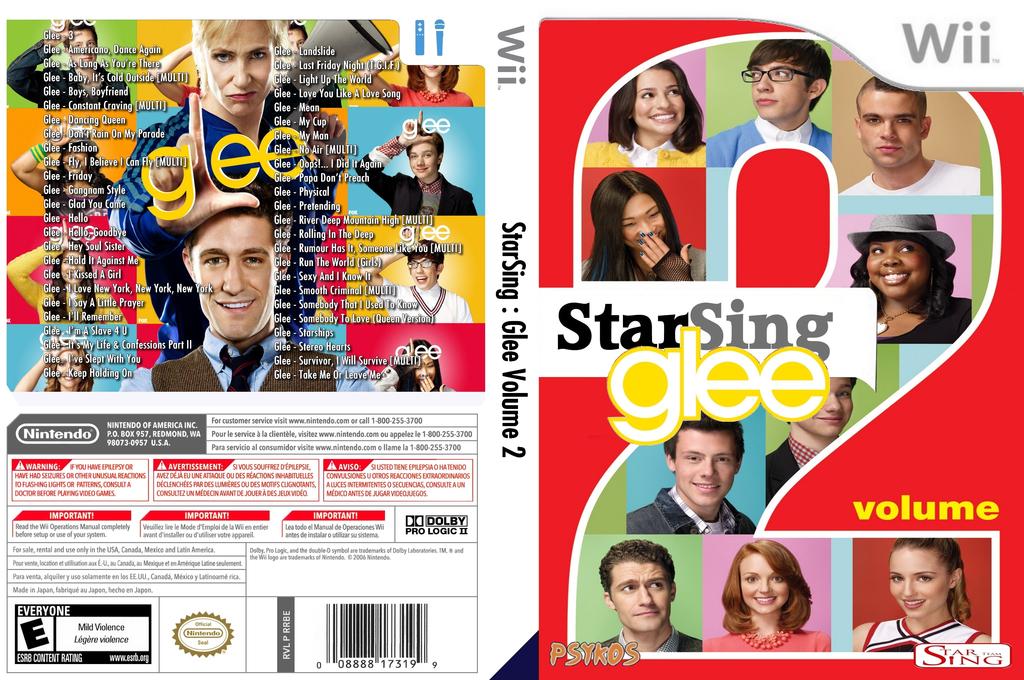 StarSing:Glee Volume 2 v1.0 Wii coverfullHQ (CTQP00)