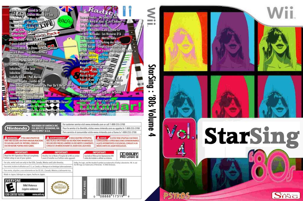 StarSing:'80s Volume 4 v2.0 Wii coverfullHQ (CTTP00)