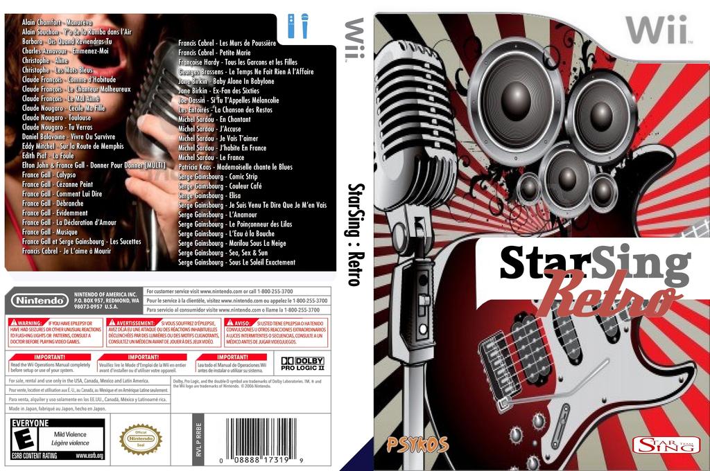 StarSing:Retro Volume 1 v1.0 Wii coverfullHQ (CTXP00)