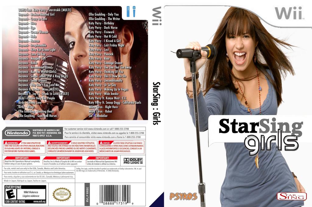 StarSing:Girls v1.0 Wii coverfullHQ (CU1P00)