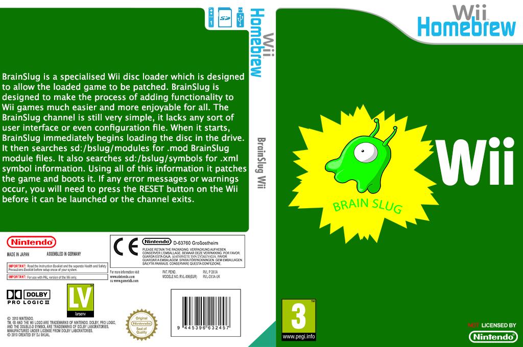 BrainSlug Wii Wii coverfullHQ (D03A)