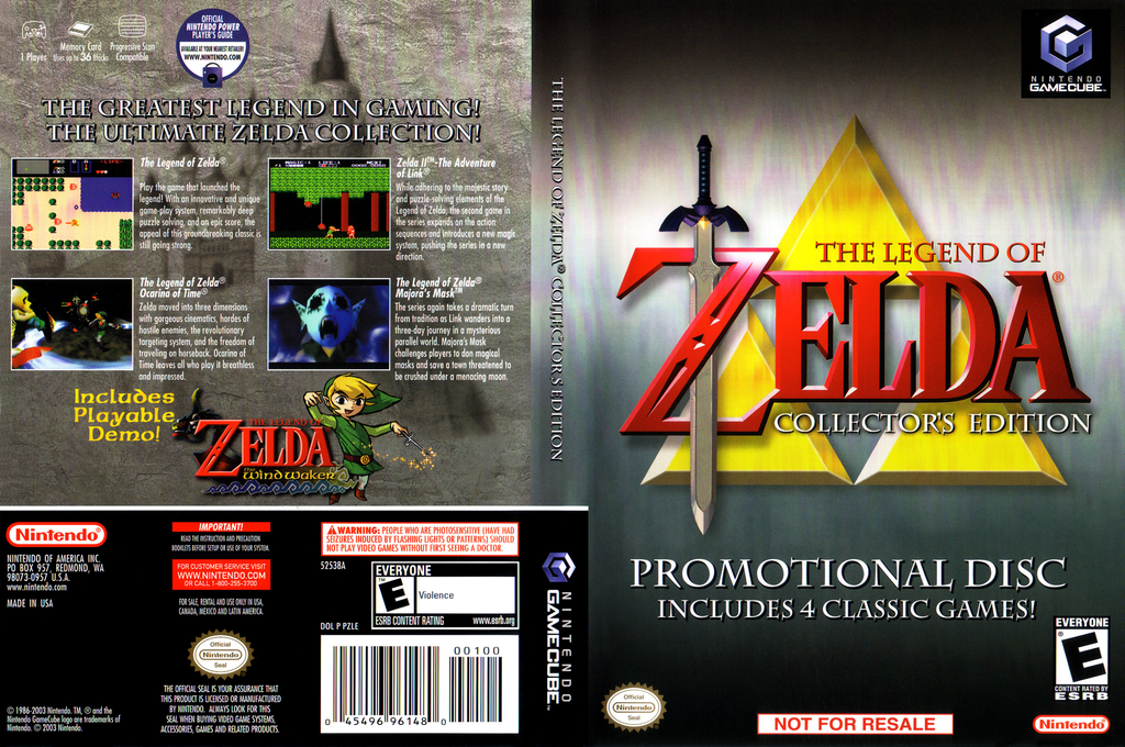 The Legend of Zelda: Ocarina of Time / Master Quest Wii coverfullHQ (D43W01)