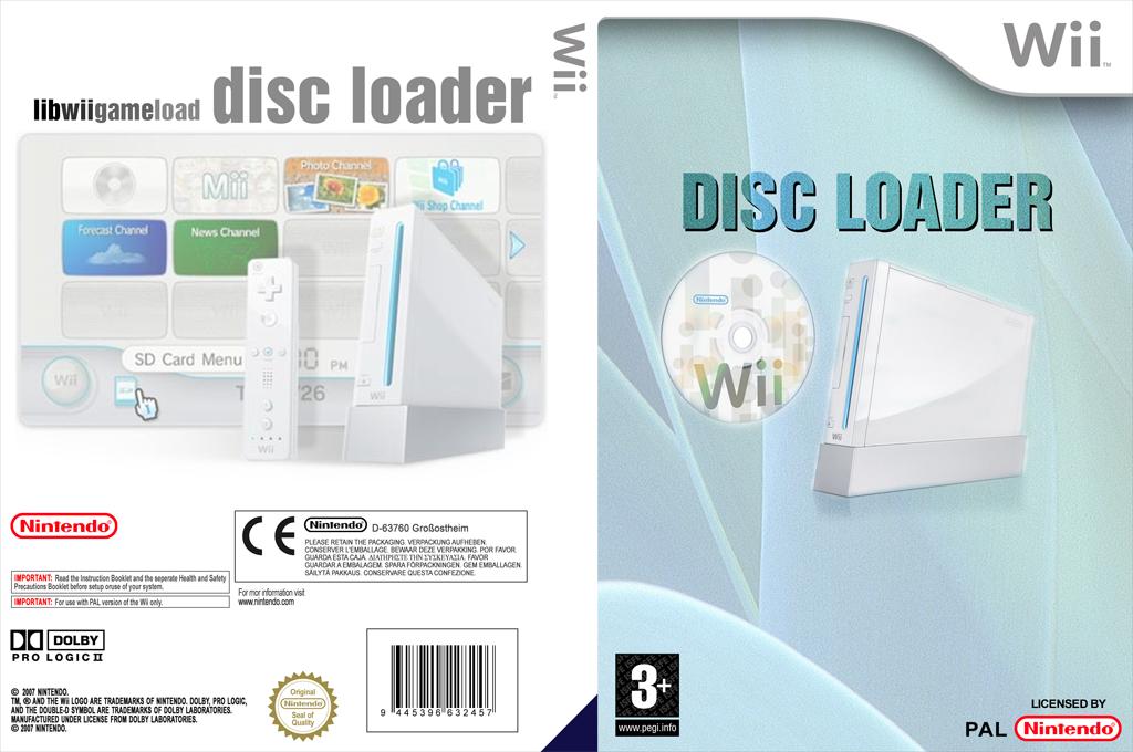 Disc Loader Wii coverfullHQ (DDLA)