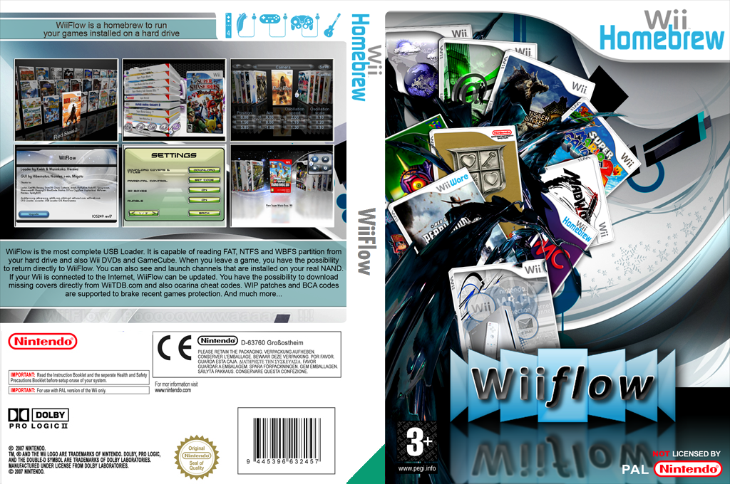 WiiFlow Wii coverfullHQ (DWFA)