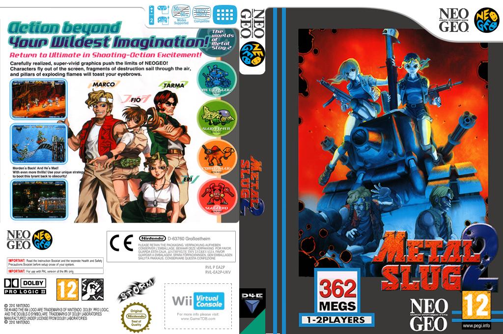 Metal Slug 2 Wii coverfullHQ (EA2P)