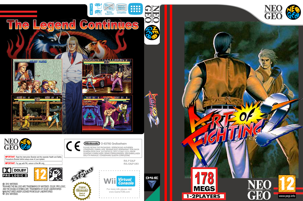 Art of Fighting 2 Wii coverfullHQ (EALP)
