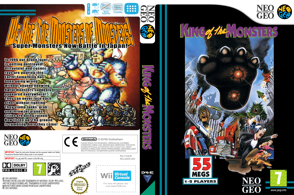King of the Monsters Wii coverfullHQ (EAOP)