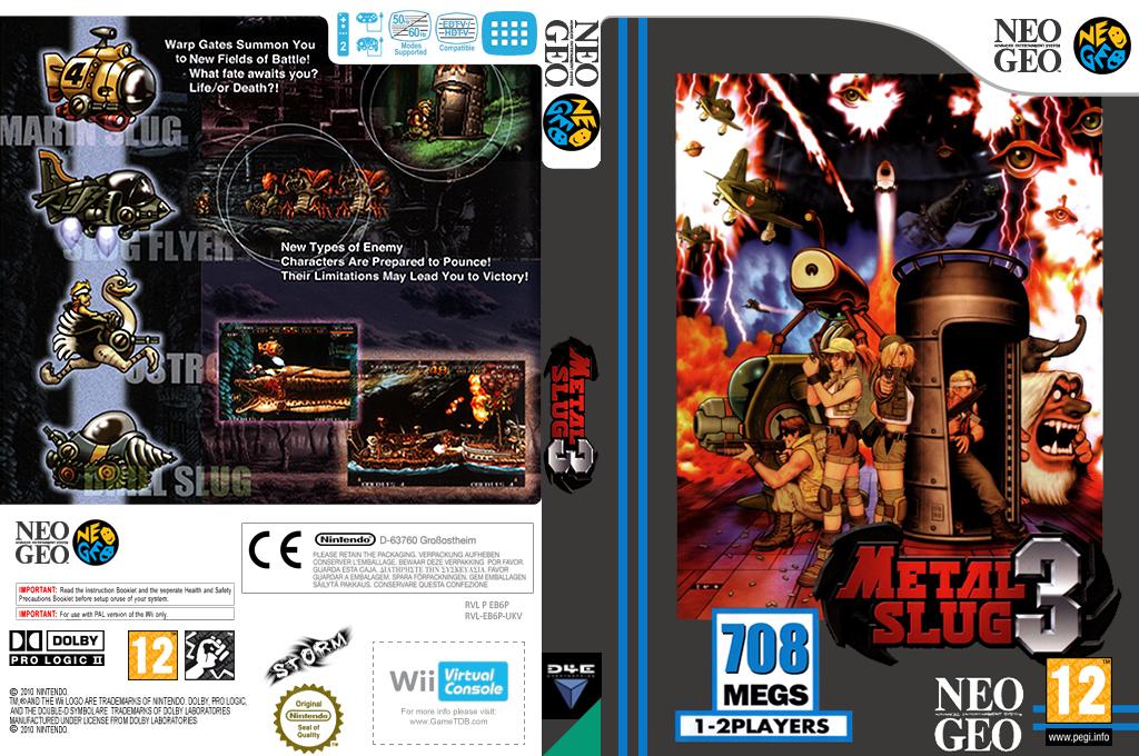 Metal Slug 3 Wii coverfullHQ (EB6P)
