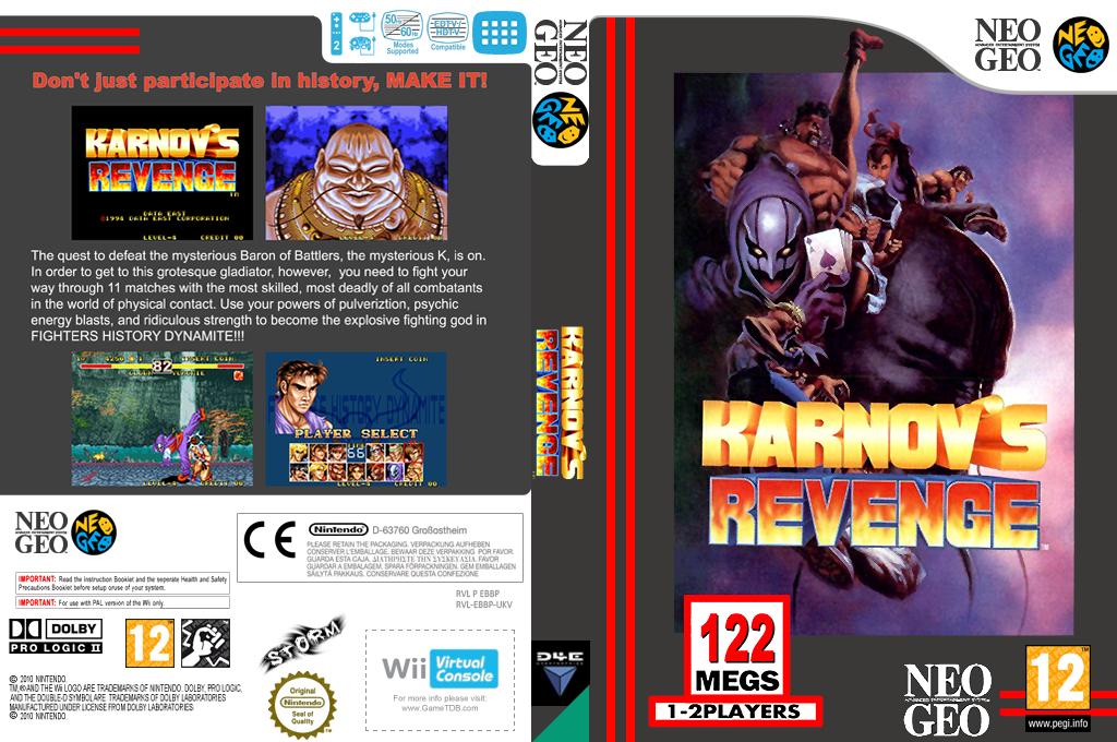 Karnov's Revenge Wii coverfullHQ (EBBP)