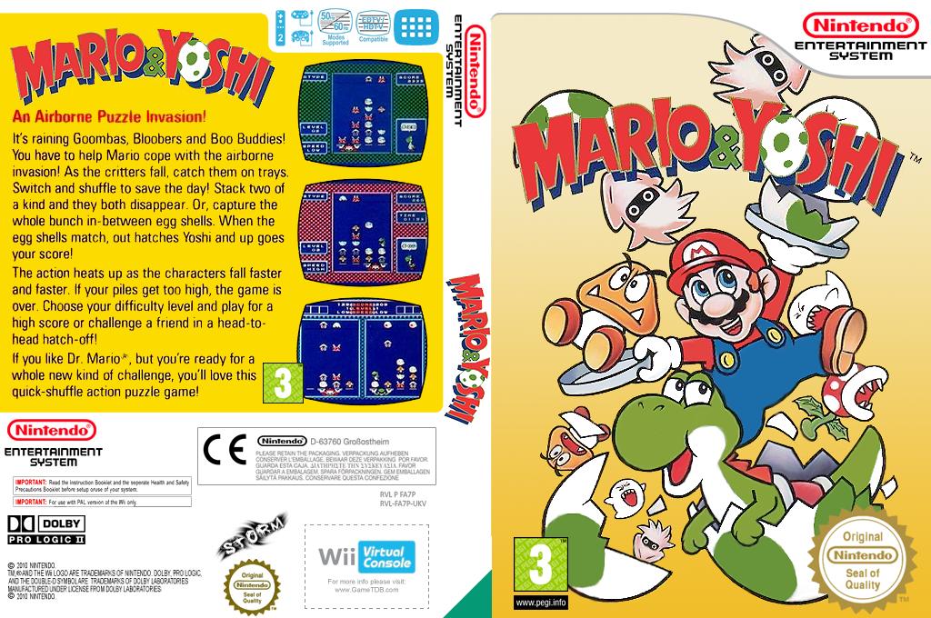 Mario & Yoshi Wii coverfullHQ (FA7P)