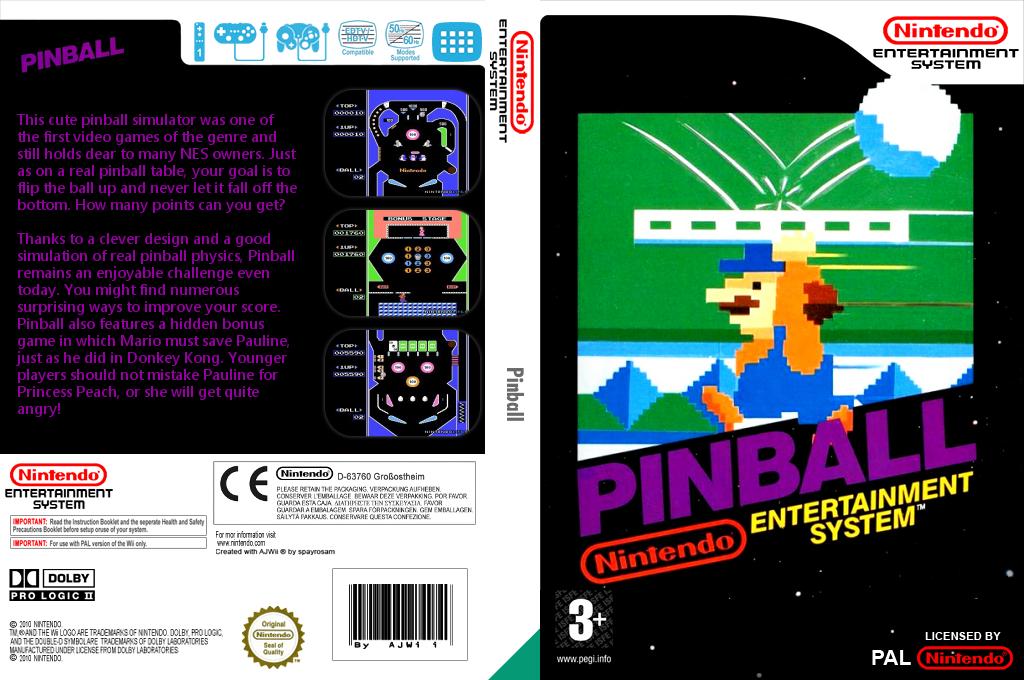 Pinball Wii coverfullHQ (FACP)