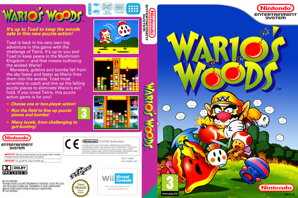 Wario's Woods Array coverfullHQ (FAMP)