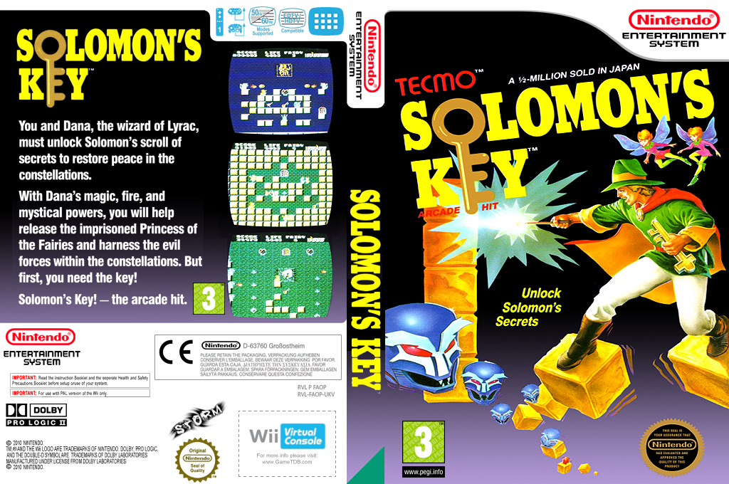 Solomon's Key Wii coverfullHQ (FAOP)