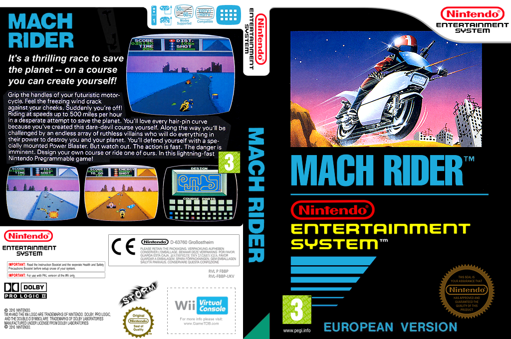 Mach Rider Wii coverfullHQ (FBBP)