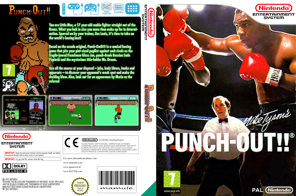 Punch Out Wii Soda Popinski : Fbip punch out