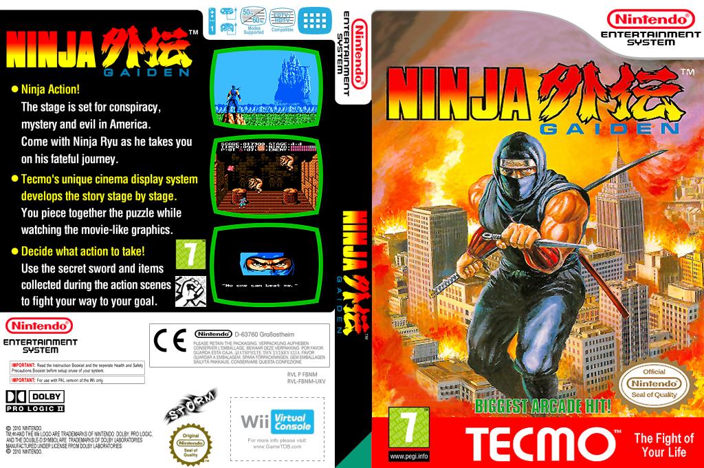 Ninja Gaiden Wii coverfullHQ (FBNM)
