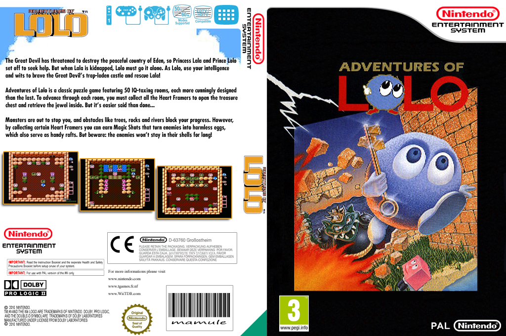 Adventures of Lolo Wii coverfullHQ (FBUP)